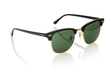 Elegant sunglasses isolated on the white Stock Photo - 16832245