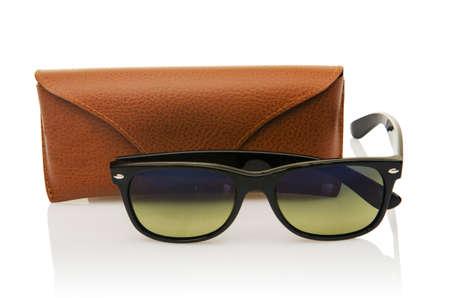 Elegant sunglasses isolated on the white Stock Photo - 16834544