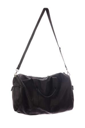 Nice elegant woman bag isolated on the white Stock Photo - 16894646