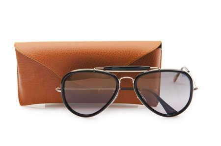 Elegant sunglasses isolated on the white Stock Photo - 16897496