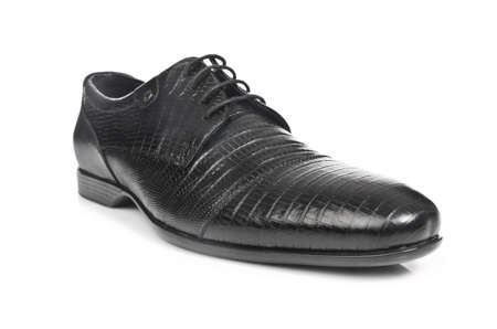 Male shoes isolated on the white Stock Photo - 16897502