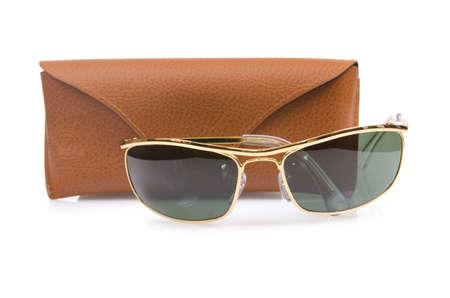Elegant sunglasses isolated on the white Stock Photo - 17368529