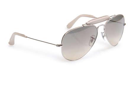 Elegant sunglasses isolated on the white Stock Photo - 17367035