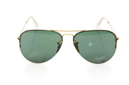 Elegant sunglasses isolated on the white Stock Photo - 17368521