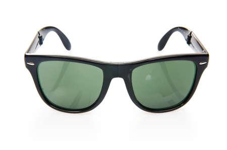 Elegant sunglasses isolated on the white Stock Photo - 17367521