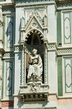 Elements  architecture of cathedral in Florence Stock Photo - 17368445