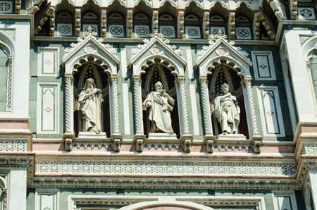 Elements  architecture of cathedral in Florence Stock Photo - 17368486