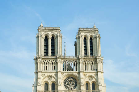 Notre Dame de Paris cathedral in summer day Stock Photo - 17368034