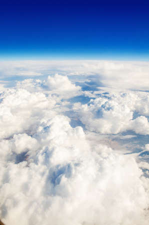 Clouds taken from the airplance Stock Photo - 17368003