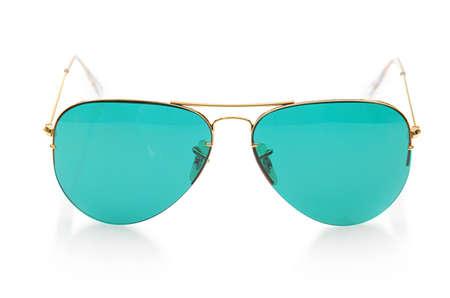 Elegant sunglasses isolated on the white Stock Photo - 17373463