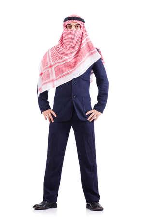 Arab businessman isolated on white Stock Photo - 17412874