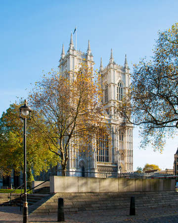 Westminster Abbey on bright summer day Stock Photo - 18014917