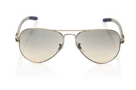 Elegant sunglasses isolated on the white Stock Photo - 18010160