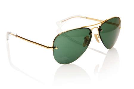 Elegant sunglasses isolated on the white Stock Photo - 18010216