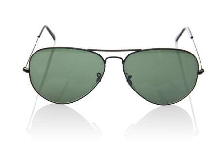 Elegant sunglasses isolated on the white Stock Photo - 18010750