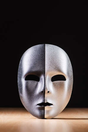 Mask against the dark background Stock Photo - 18014298