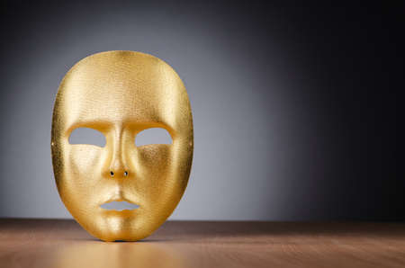Mask against the dark background Stock Photo - 18014525