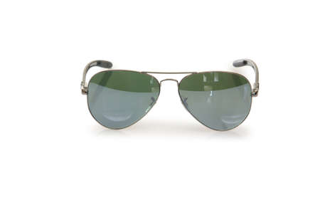 Elegant sunglasses isolated on the white Stock Photo - 18009517