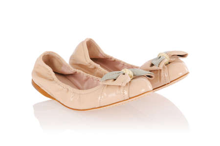 Ballet shoes in fashion concept Stock Photo - 18010251
