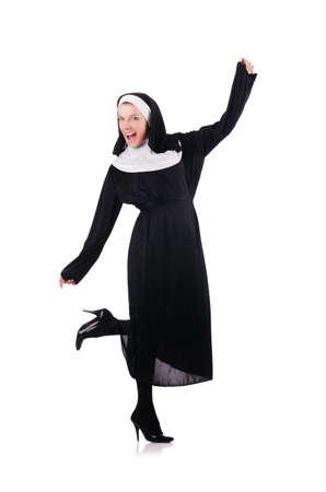 Young nun in religious concept Stock Photo - 18037571