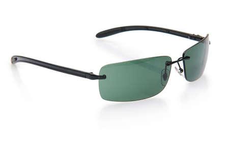 Elegant sunglasses isolated on the white Stock Photo - 18010111