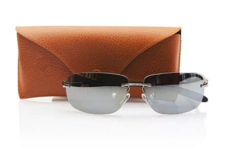 Elegant sunglasses isolated on the white Stock Photo - 18012081