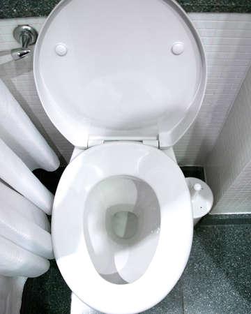 Toilet in the bathroom Stock Photo - 18163184