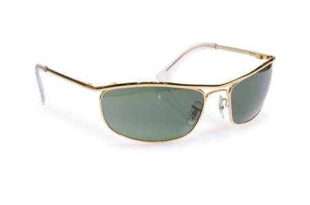Elegant sunglasses isolated on the white Stock Photo - 18163092