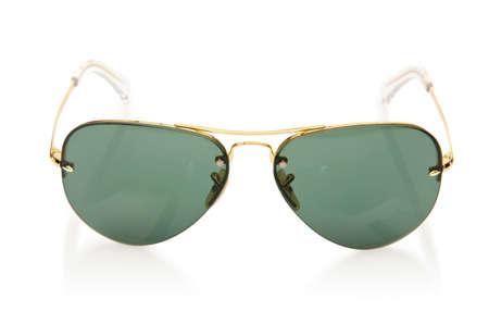 Elegant sunglasses isolated on the white Stock Photo - 18163093