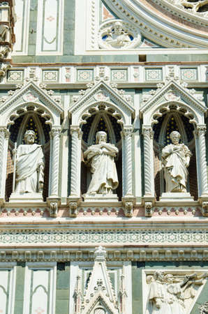 Elements  architecture of cathedral in Florence Stock Photo - 18174029