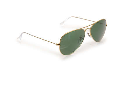 Elegant sunglasses isolated on the white Stock Photo - 18175342