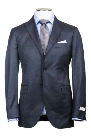 Formal suit in fashion concept photo