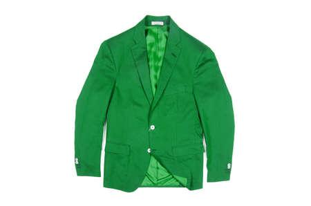 Jacket isolated on the white background Stock Photo - 18302040