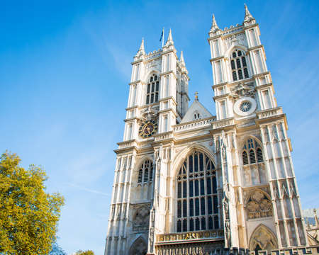 Westminster Abbey on bright summer day Stock Photo - 18302853