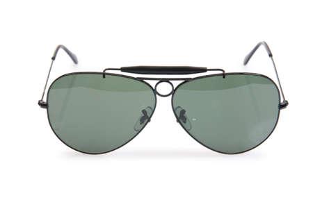 Elegant sunglasses isolated on the white Stock Photo - 18301449
