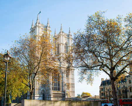 Westminster Abbey on bright summer day Stock Photo - 18302859