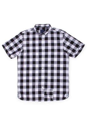 Nice male shirt isolated on the white Stock Photo - 18301682