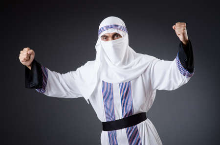Arab man isolated on the white Stock Photo - 18663032