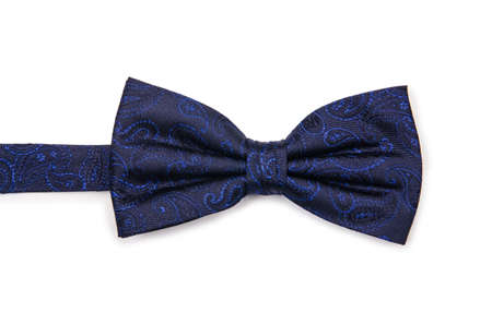 Bow tie isolated on the white background Stock Photo