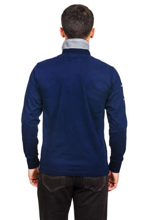 Male sweater isolated on the white Stock Photo - 18302602