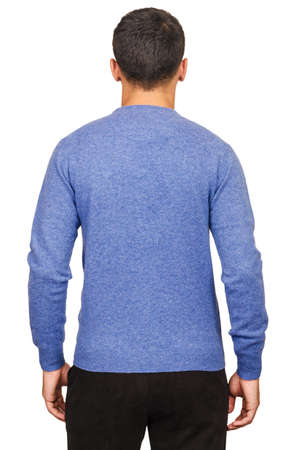 Male sweater isolated on the white Stock Photo - 18302723