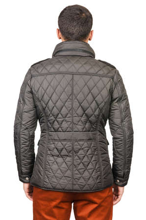 Male coat isolated on the white Stock Photo - 18310030