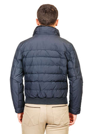 Male coat isolated on the white Stock Photo - 18307876