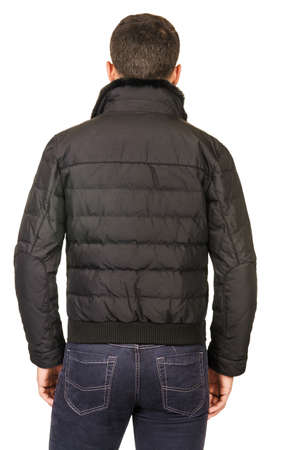 Male coat isolated on the white Stock Photo - 18310032
