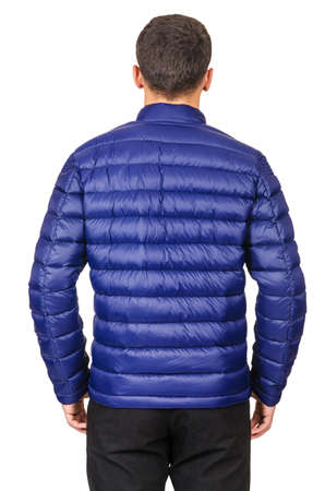 Male coat isolated on the white Stock Photo - 18310025