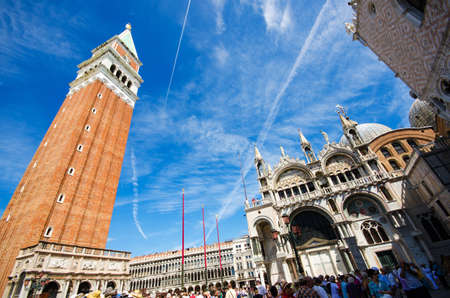 Saint Mark square in Venice Italy Stock Photo - 18306278