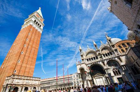 Saint Mark square in Venice Italy Stock Photo - 18306278