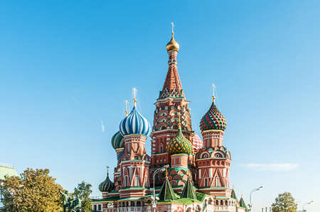 Famous st Vasily Blessed cathedral in Moscow Stock Photo - 18310694
