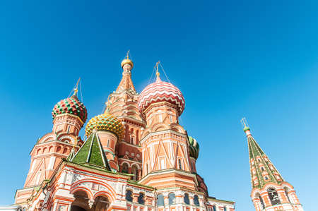 Famous st Vasily Blessed cathedral in Moscow Stock Photo - 18310438