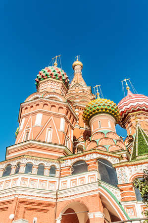 Famous st Vasily Blessed cathedral in Moscow Stock Photo - 18310536